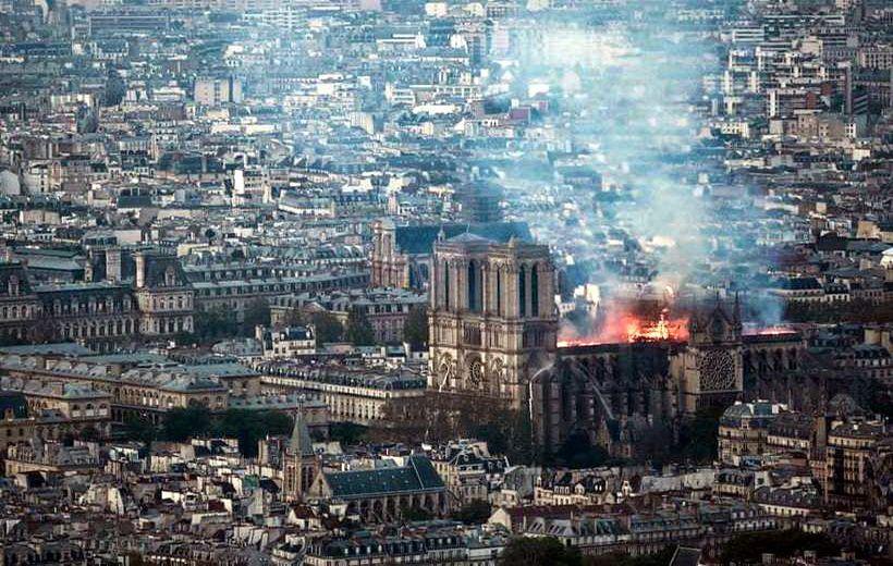 Дим над Парижем