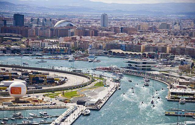 Панорама Валенсії