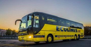 Ecolines распродает билеты из Украины