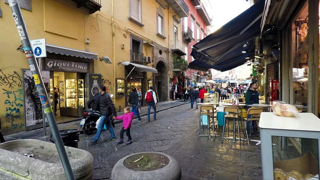 На вулицях Неаполя