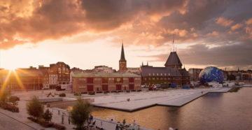 Місто Орхус Данія