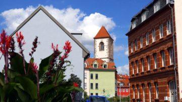 Місто Ерфурт Німеччина