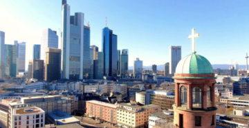 Місто Франкфурт-на-Майні Німеччина