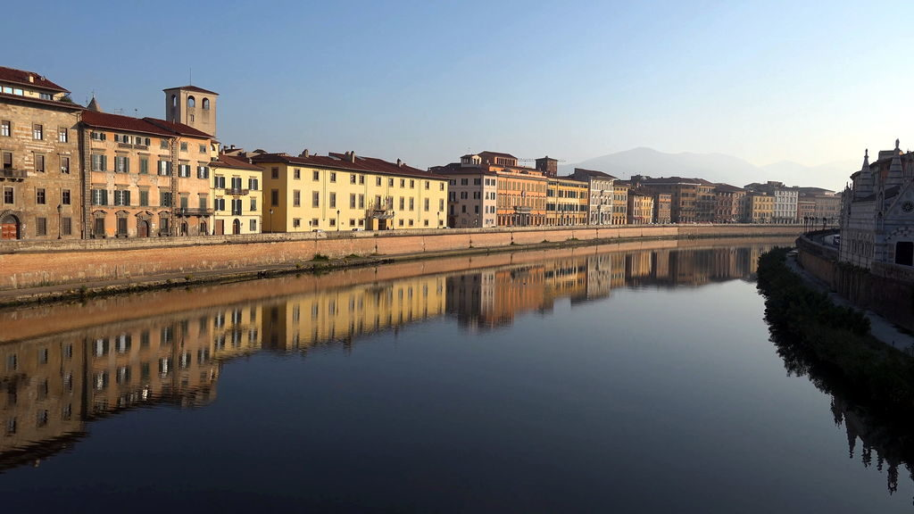 Річка Арно, Піза