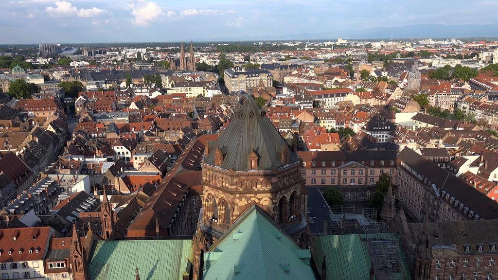 Панорама Страсбурга