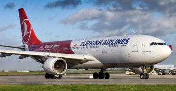 Распродажа Turkish Airlines