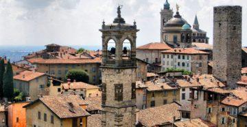 Місто Бергамо Італія