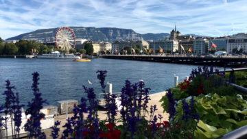 Місто Женева Швейцарія