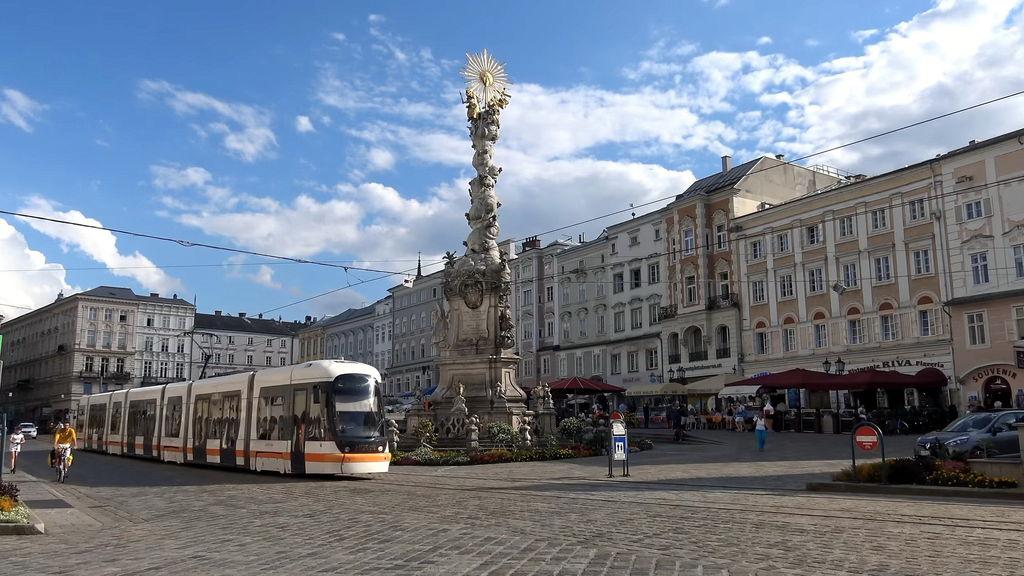 Місто Лінц Австрія