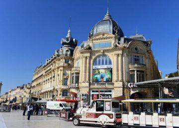 Місто Монпельє Франція