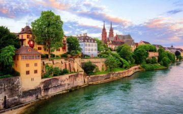 Місто Базель Швейцарія