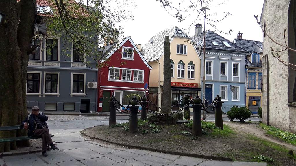 вулиці Бергена