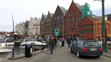 Місто Берген Норвегія