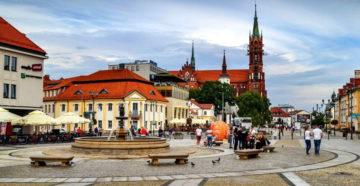 Місто Білосток Польща