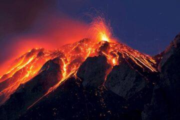 Діючі вулкани світу