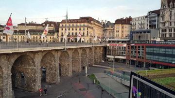 Місто Лозанна Швейцарія