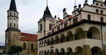 Місто Левоча Словаччина