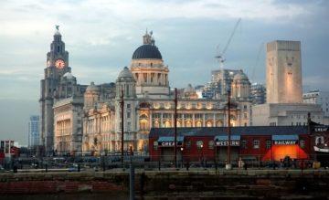 Місто Ліверпуль Великобританія