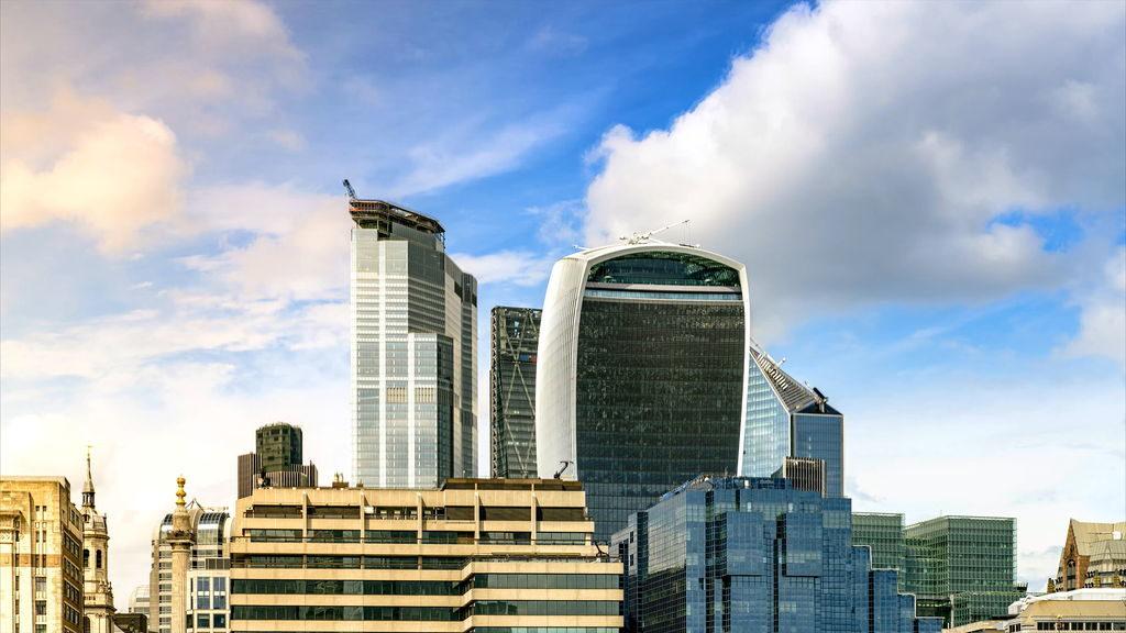 Хмарочоси лондонського Сіті