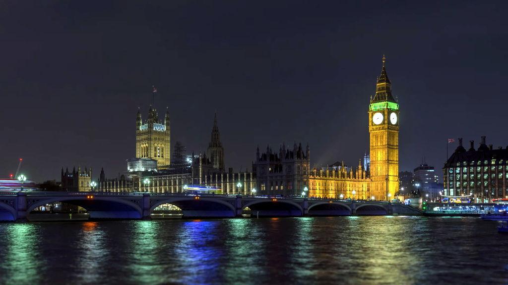 Нічний Лондон