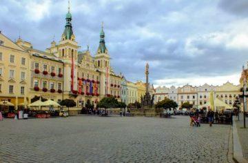 Місто Пардубіце Чехія