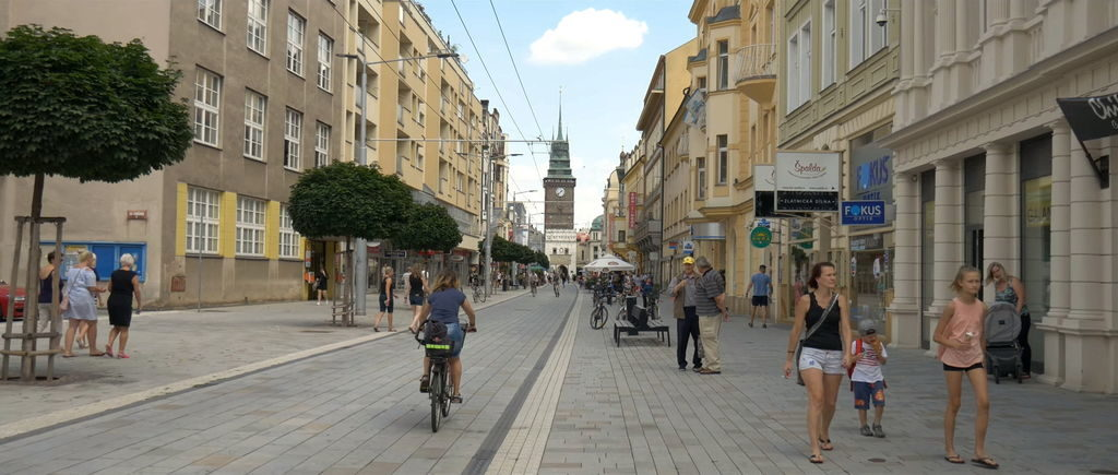 Вулиці Пардубице