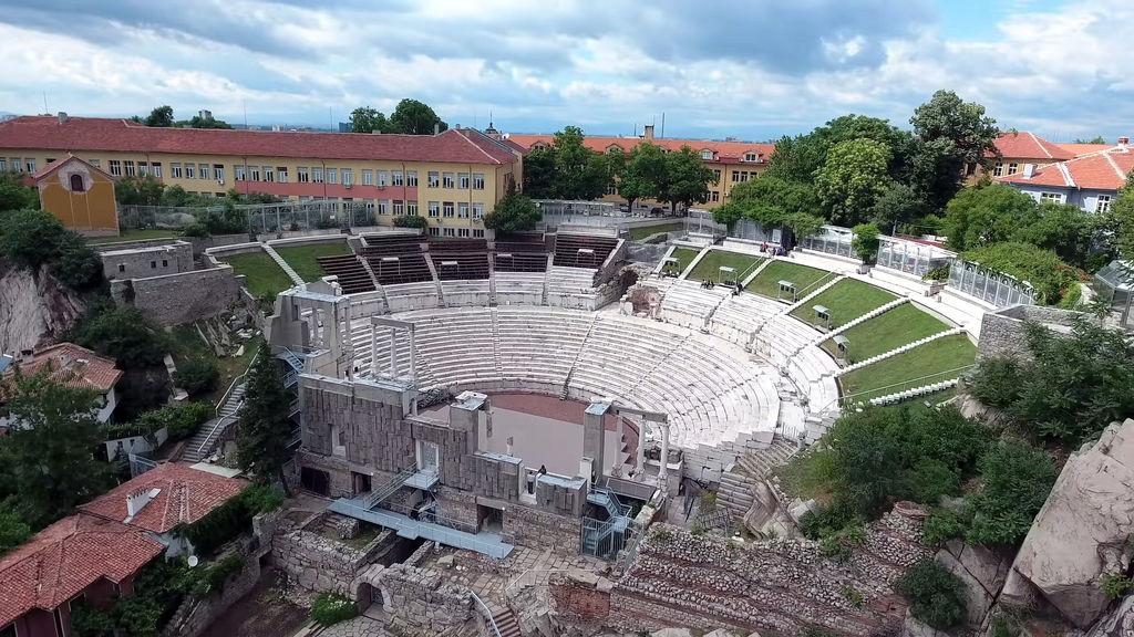 Римський театр в Пловдиві
