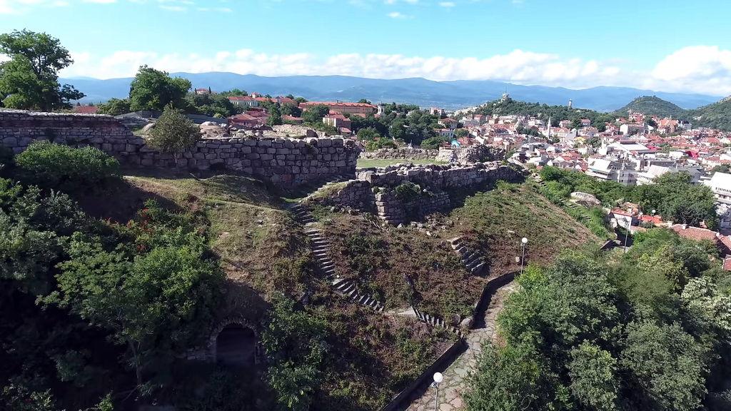 Римські руїни в Пловдиві