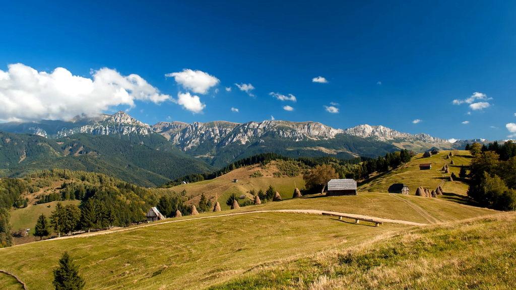 Румунські пейзажі. Карпати