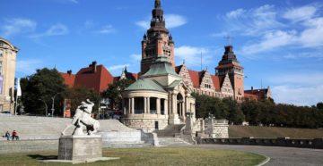 Місто Щецин Польща