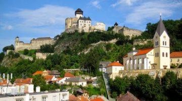 Місто Тренчин Словаччина