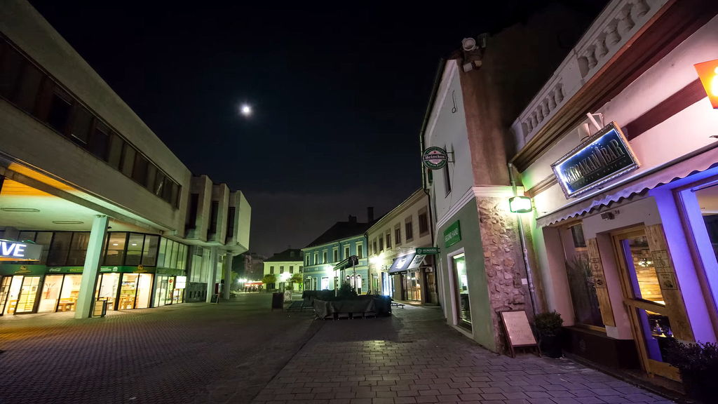 Старовинні вулички Тренчина