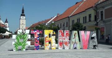 Місто Трнава Словаччина