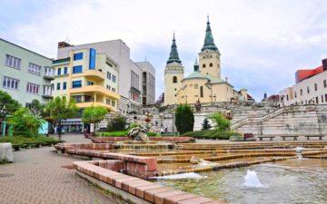 Місто Жиліна Словаччина