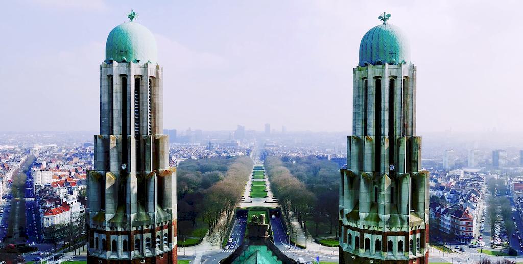 Панорама Брюсселя