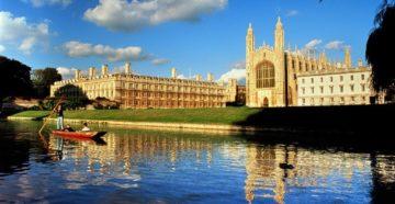 Місто Кембридж Велика Британія