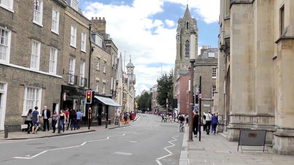 Вулиці Кембриджа