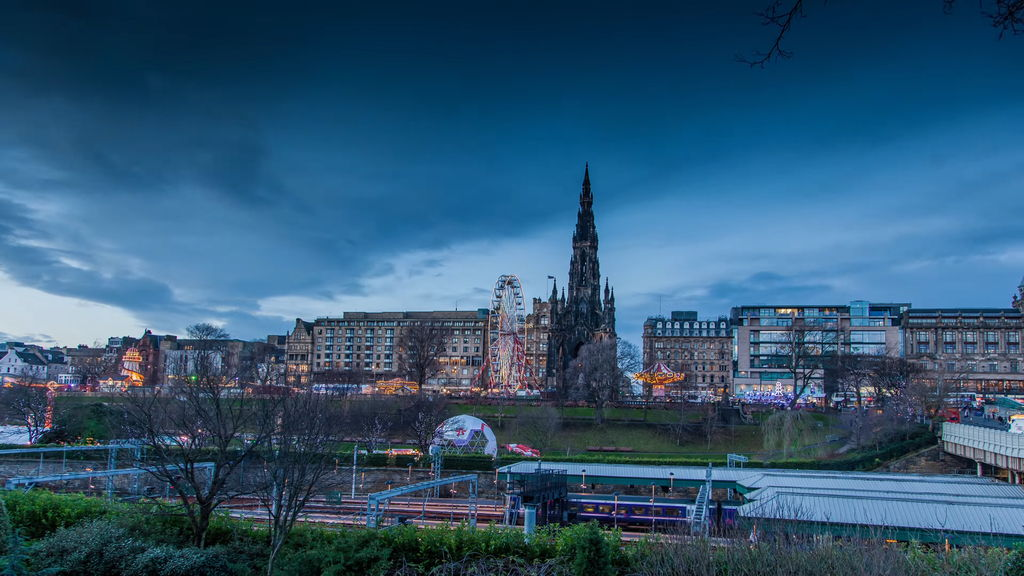 Едінбург - столиця Шотландії