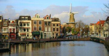 Місто Лейден Нідерланди
