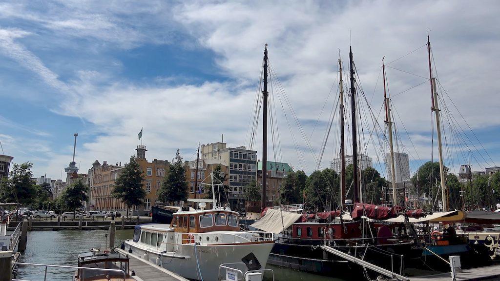 Панорама Роттердама