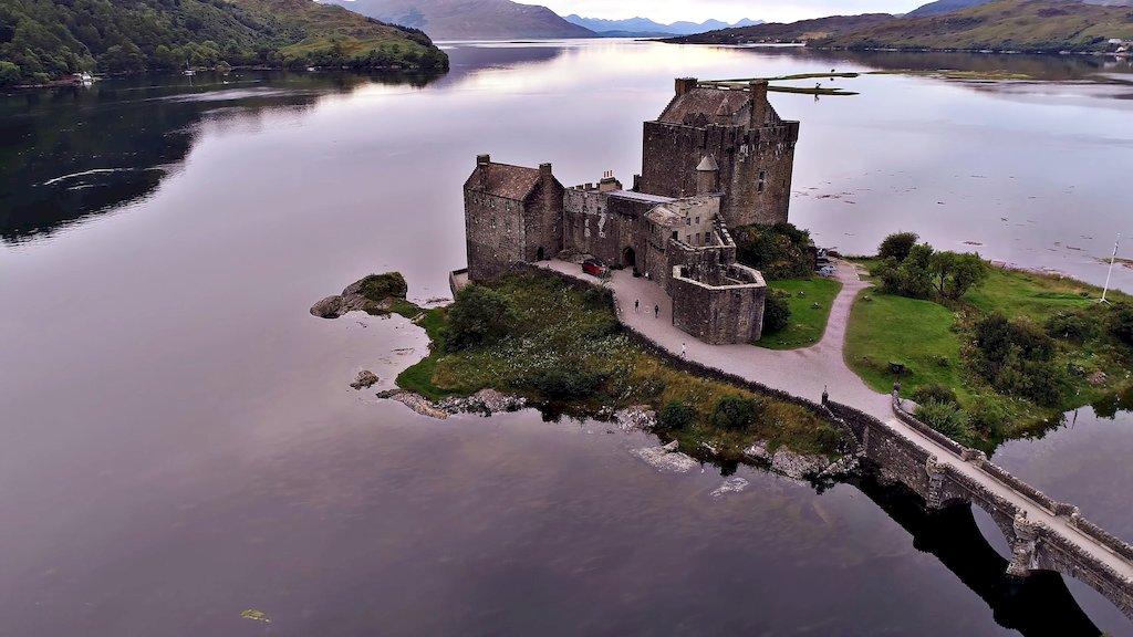Старий замок в Шотландії