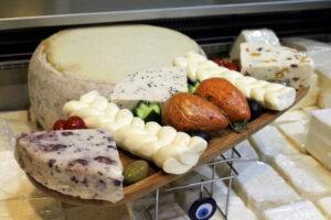 Різноманітність турецьких сирів