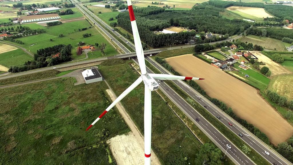 Вітрогенератори в Бельгії