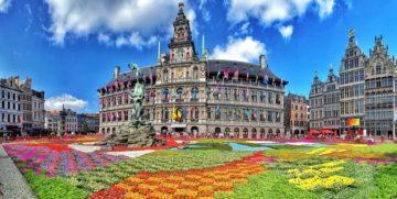 Місто Антверпен Бельгія