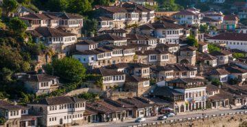 Місто Берат Албанія