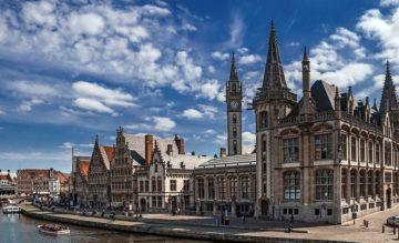 Місто Гент Бельгія