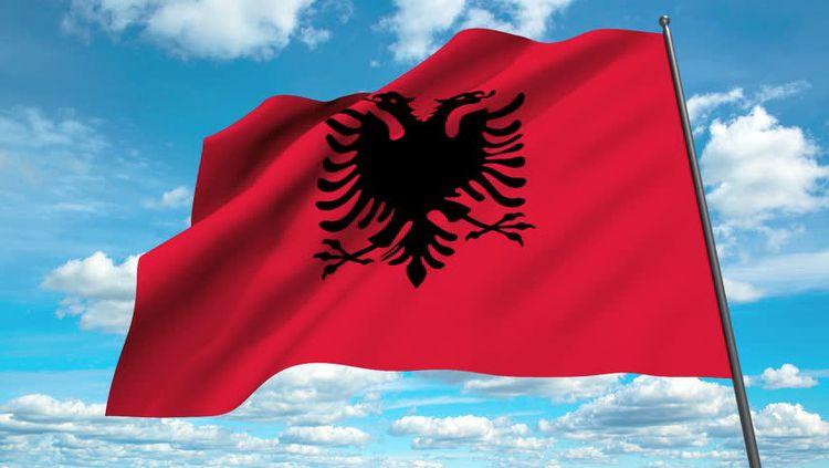 Албанія прапор