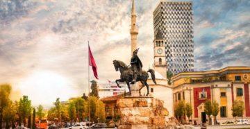 Місто Тирана Албанія