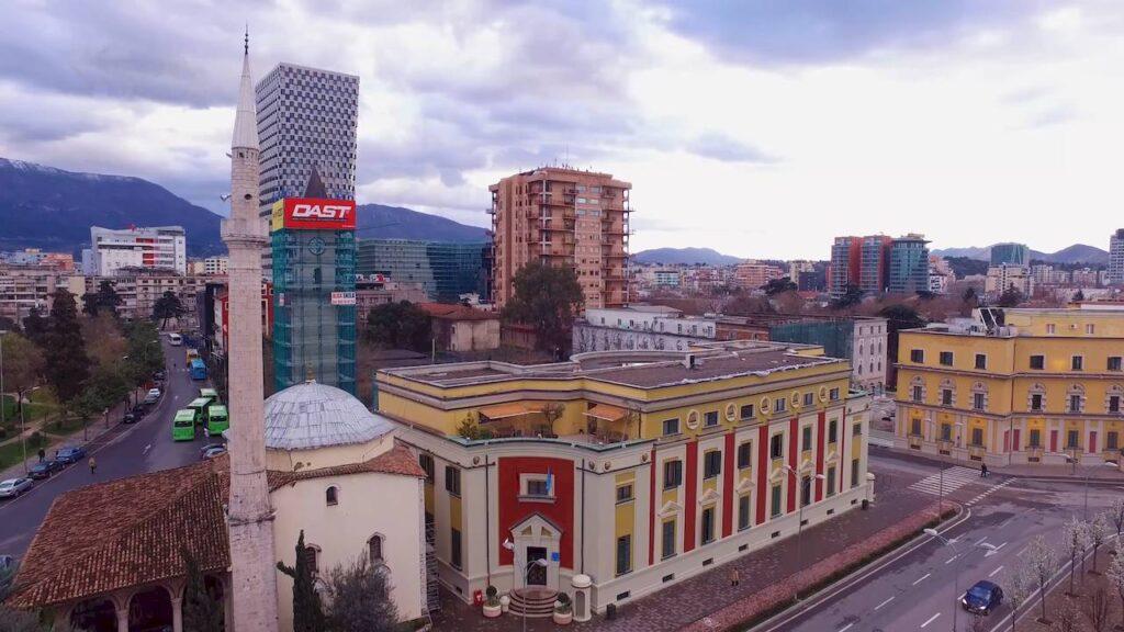 Панорама Тирани