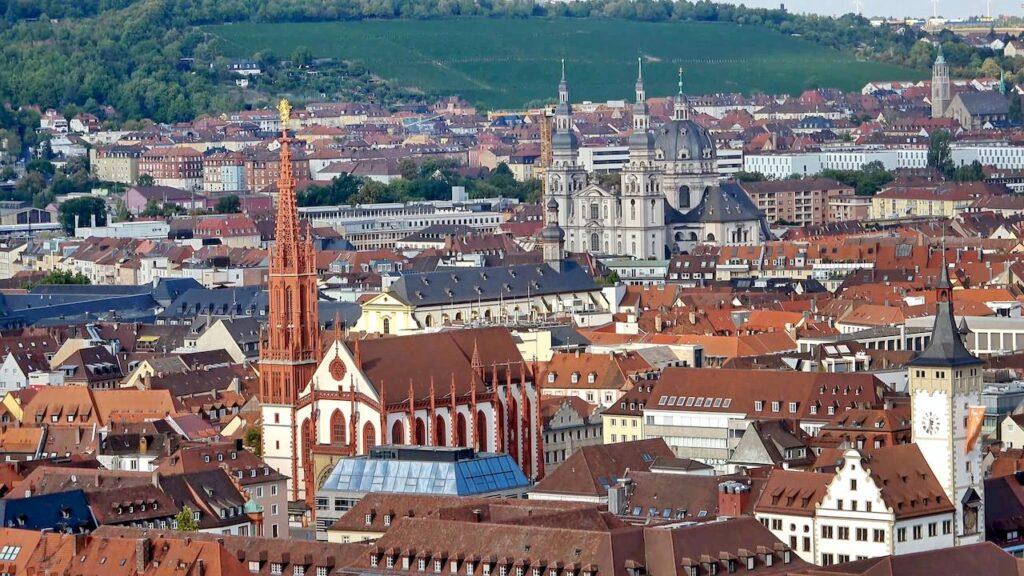 Панорама Вюрцбурга